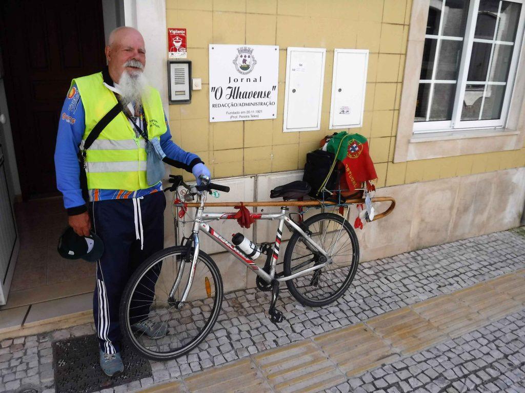 Manuel Londreira, o peregrino mais famoso de Portugal,