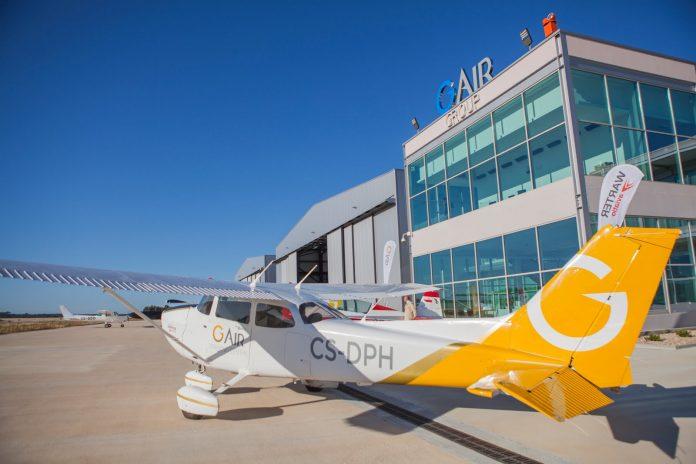 Escola Internacional de pilotagem - G Air, em Ponte de Sor