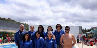 Equipa de Natação do CAPGE no 3º Torneio de Masters do Douro Vinhateiro